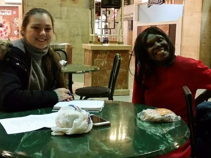 Janet and Lauren